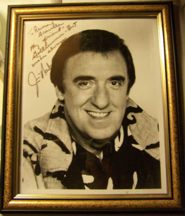Autograph Sunday : Jim Nabors c/o Gravelle's Daily Scoff
